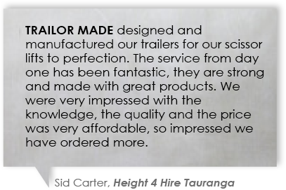 Trailor Made testimonial.