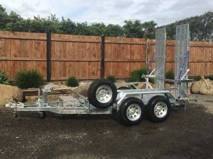 Custom made Scissor Lift Trailer, 3.5 tonne.