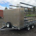 Trailer accessories - custom built aluminium tool box