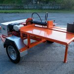 Accesories for trailers, custom trailer for log spliter.